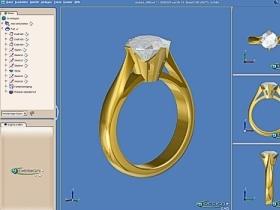 CAD Schmuckdesign - Screenshot 3DESIGN