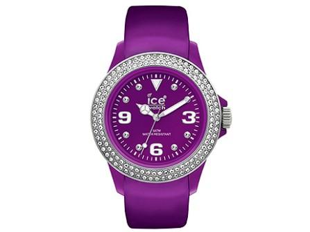 Ice Watch Uhr Stone-Purple Silver-Unisex