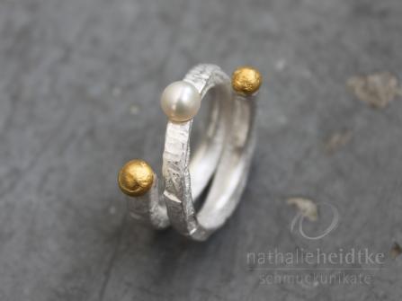 """Ring """"Kügelchen 2"""""""