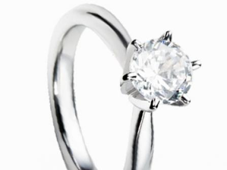 Tiffany Style Verlobungsring Mit Brillant Schmuck Uhren Portal