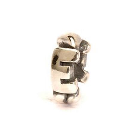 Trollbeads Bead 925 Silber E - Bead