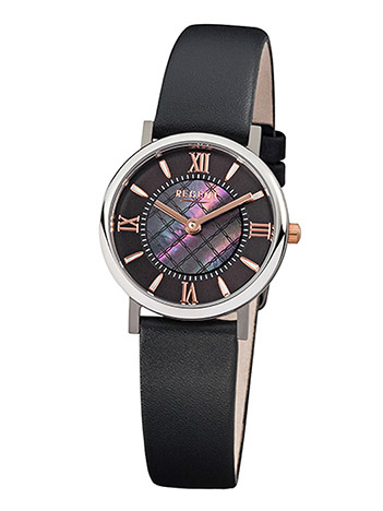 Regent Armbanduhr Damen Titan Lederband