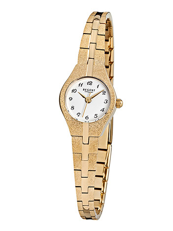 Regent Armbanduhr Damen Double Metallband