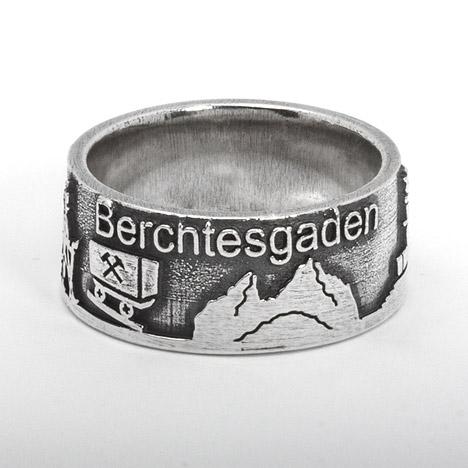 Costume Glamour Berchtesgadener Ring 925 Sterling Silber