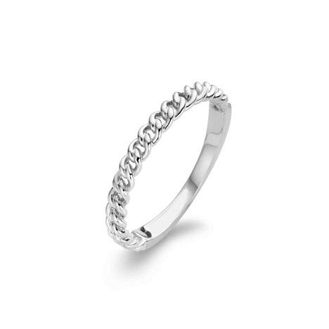 Ti Sento Ring 925 Silber, 52 / 16,6