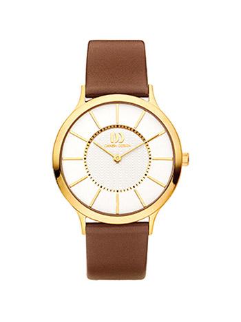 Uhren für Frauen - Danish Design Armbanduhr Damen Double Lederband  - Onlineshop Goettgen