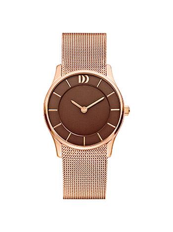 Uhren für Frauen - Danish Design Armbanduhr Damen Rosé Metallband  - Onlineshop Goettgen