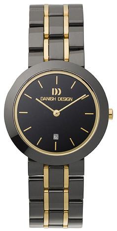 Uhren für Frauen - Danish Design Armbanduhr Damen Keramik schwarz  - Onlineshop Goettgen