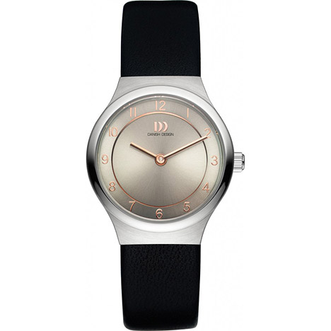 Uhren für Frauen - Danish Design Armbanduhr Damen Edelstahl Lederband  - Onlineshop Goettgen