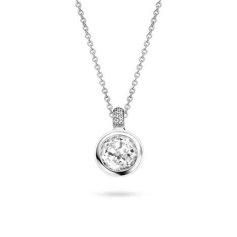 Ketten für Frauen - Ti Sento Collier 925 Silber 42cm  - Onlineshop Goettgen