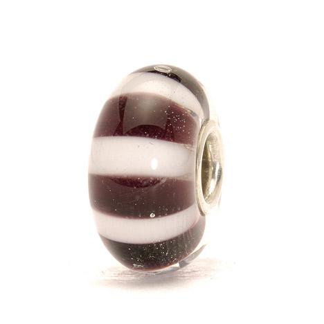 Trollbeads Bead 925 Silber Schwarzweiße