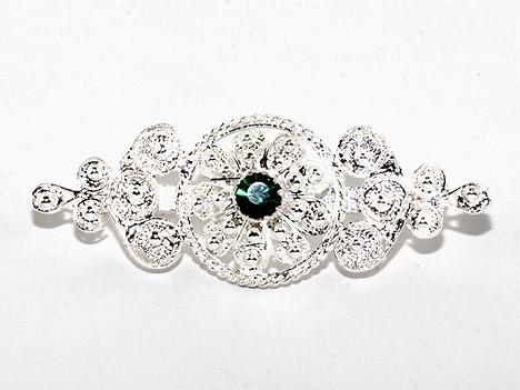 Broschen für Frauen - Costume Glamour Brosche filigran Silber 800  - Onlineshop Goettgen