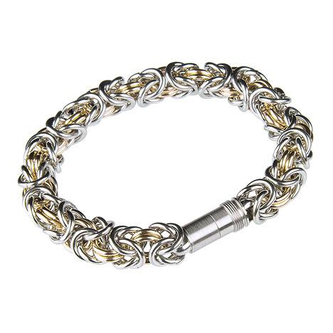 Ernstes Design Königskette 20 cm | Schmuck > Halsketten > Königsketten | Silber - Gold | Ernstes Design