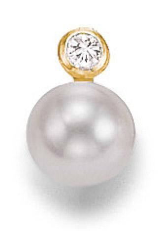 Ohrringe für Frauen - SIGO Ohrstecker 585 Gelbgold Süßwasser Perle 6 mm PAAR  - Onlineshop Goettgen