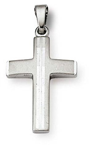 SIGO Anhänger Kreuz 925 Silber 21 mm