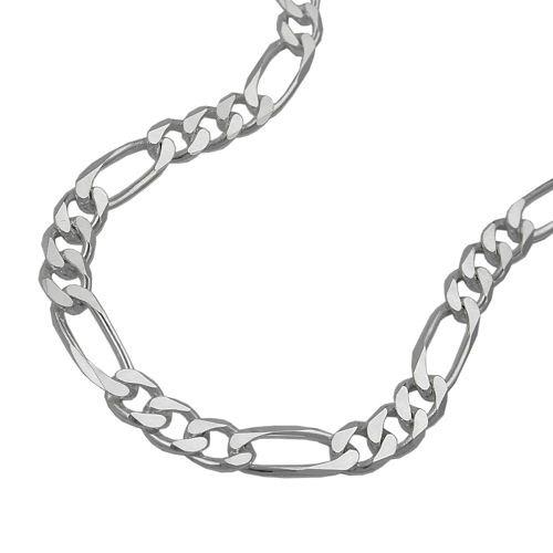 Armbaender für Frauen - SIGO Armband, Figaro flach, 19cm, Silber 925  - Onlineshop Goettgen