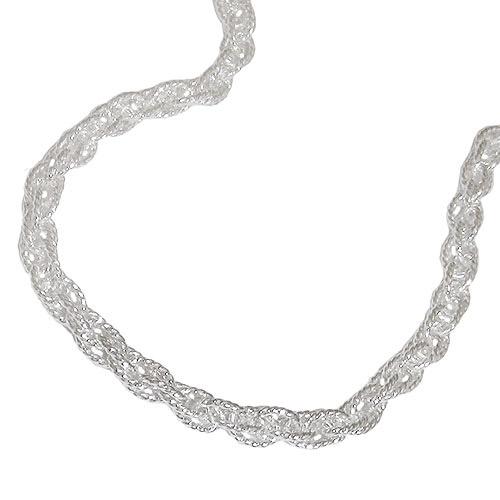Armbaender für Frauen - SIGO Armband, Doppelanker 19cm, Silber 925  - Onlineshop Goettgen