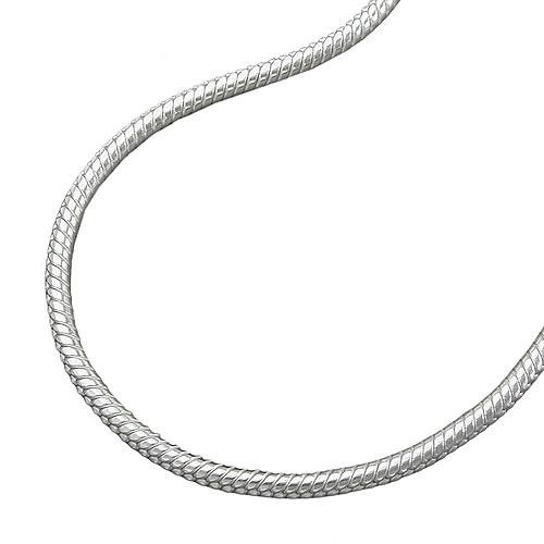 SIGO Kette, Schlange 1,3mm rund Silber 925 bei Ioro.de - Schmuck und Uhren