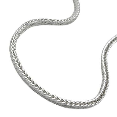 SIGO Kette Fuchsschwanz vierkant Silber 925