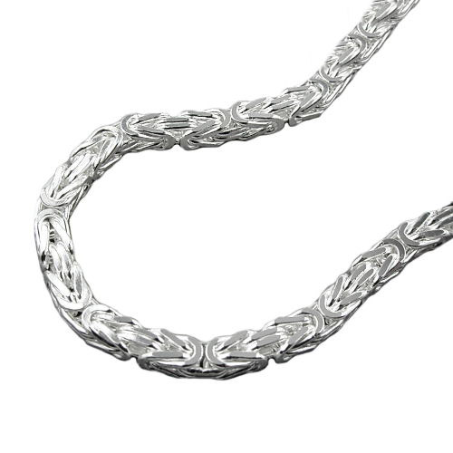 SIGO Kette, 3mm Königskette, Silber 925