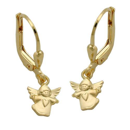 Ohrringe für Frauen - SIGO Ohrringe Brisur, fliegender Engel, Gold 375  - Onlineshop Goettgen