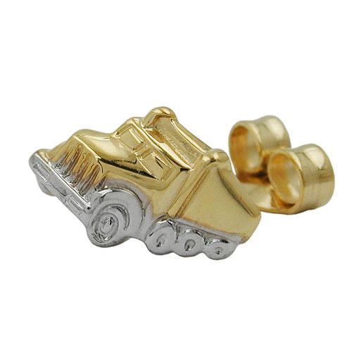 SIGO Ohrstecker, Truck, Gold 375