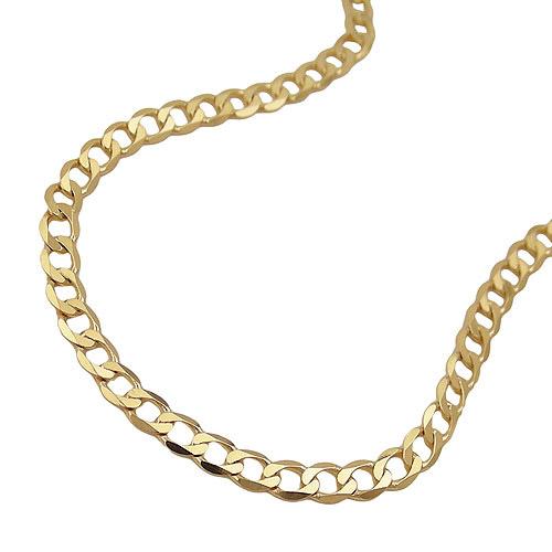 Armbaender für Frauen - SIGO Armband, 19cm, Weitpanzer, Gold 585  - Onlineshop Goettgen