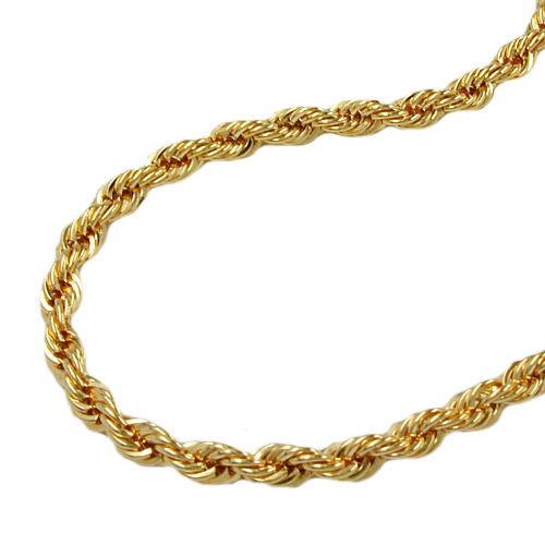 Armbaender für Frauen - SIGO Armband, 19cm, Kordelkette, Gold 375  - Onlineshop Goettgen