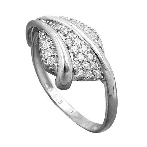 SIGO Ring, mit Zirkonia, Silber 925