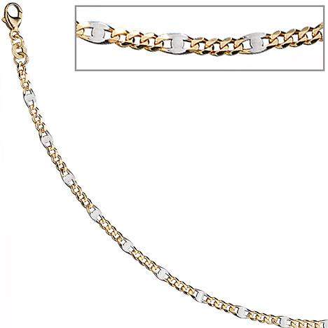 Armbaender für Frauen - SIGO Steg Panzerarmband 333 Gelbgold massiv 19 cm Gold Armband Goldarmband Karabiner  - Onlineshop Goettgen