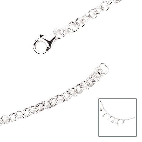 Armbaender für Frauen - SIGO Armband 925 Sterling Silber 19 cm Silberarmband Bettelarmband für Charms  - Onlineshop Goettgen