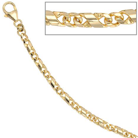 Armbaender für Frauen - SIGO Armband 333 Gold Gelbgold massiv 19 cm Karabiner  - Onlineshop Goettgen