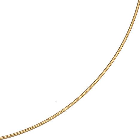 SIGO Halsreif 333 Gelbgold 1,5 mm 45 cm Gold Kette Halskette Goldhalsreif Karabiner | Schmuck > Halsketten | Gold | SIGO
