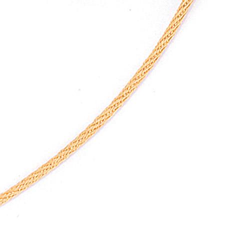 SIGO Halsreif 750 Gold Gelbgold 1,1 mm 50 cm Halskette Kette Karabiner | Schmuck > Halsketten > Goldketten | Gold | SIGO