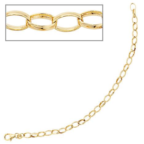 Armbaender für Frauen - SIGO Armband 333 Gold Gelbgold 19 cm Goldarmband Karabiner  - Onlineshop Goettgen