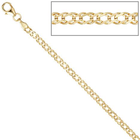 SIGO Zwillings-Panzerarmband 333 Gelbgold 19 cm Gold Armband Goldarmband Karabiner | Schmuck > Armbänder > Goldarmbänder | Gold | SIGO