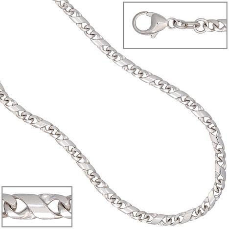SIGO Halskette Kette 585 Weißgold 45 cm Goldket...
