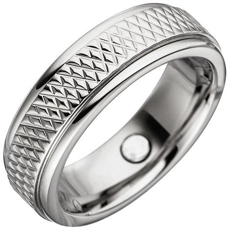SIGO Partner Ring mit Magnet / Magnetring aus Edelstahl | Schmuck > Ringe > Partnerringe | Silber - Gold | SIGO