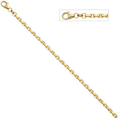 Armbaender für Frauen - SIGO Ankerarmband 333 Gold Gelbgold diamantiert 19 cm Armband Goldarmband  - Onlineshop Goettgen