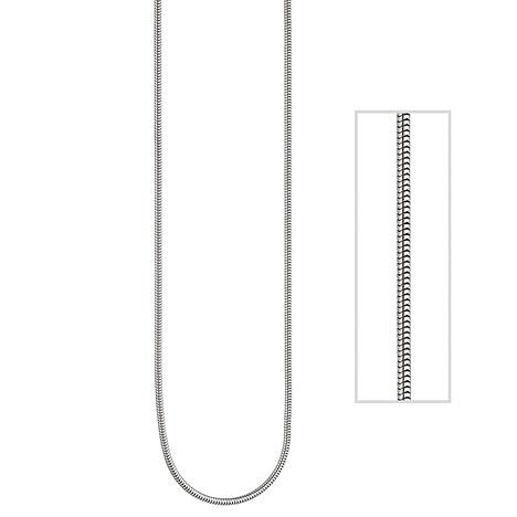 SIGO Schlangenkette 950 Platin 1,2 mm 45 cm Ket...