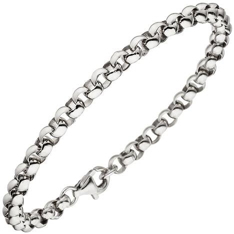 Armbaender für Frauen - SIGO Erbsarmband 925 Sterling Silber 19 cm Armband Silberarmband  - Onlineshop Goettgen
