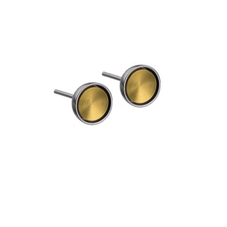Ohrringe für Frauen - Ernstes Design Ohrstecker 7 mm  - Onlineshop Goettgen