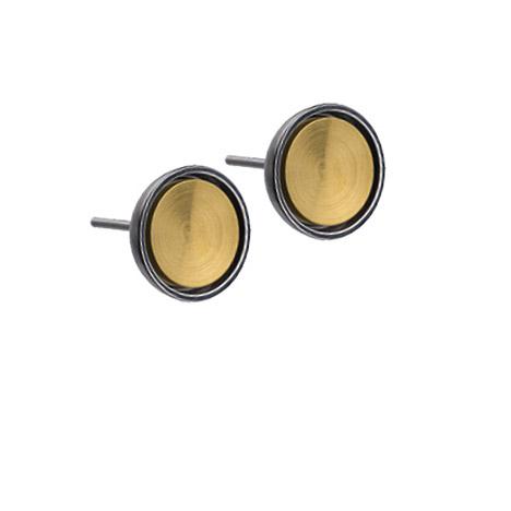 Ohrringe für Frauen - Ernstes Design Ohrstecker 10 mm  - Onlineshop Goettgen