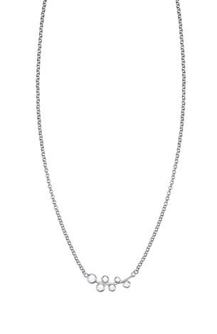 Esprit Halskette 925 Silber ES-FROSTY CRYSTALS | Schmuck > Halsketten > Lange Ketten | Silber - Weiß | Esprit