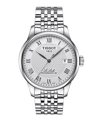 TISSOT Armbanduhr Herren LE LOCLE POWERMATIC 80