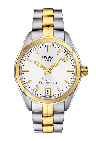 TISSOT Armbanduhr Damen PR 100 POWERMATIC 80 LADY