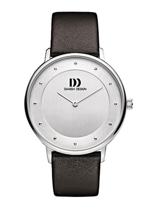 danish design armbanduhr herren edelstahl lederband. Black Bedroom Furniture Sets. Home Design Ideas