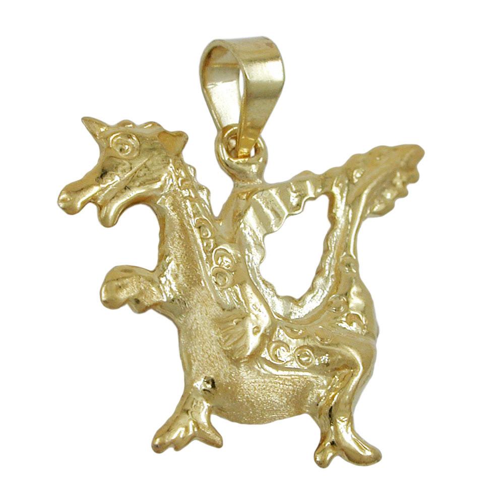 Sigo anh nger drache gold 375 schmuck - 375 gold ...