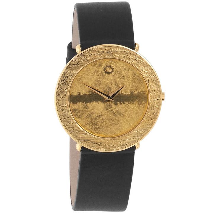 ars herren armbanduhr quarz analog 750 gold gelbgold. Black Bedroom Furniture Sets. Home Design Ideas