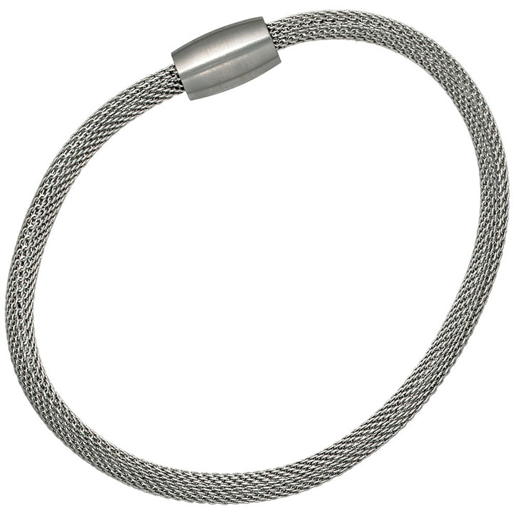 sigo strumpfarmband edelstahl 19 cm armband edelstahlarmband mit magnetverschluss goettgen. Black Bedroom Furniture Sets. Home Design Ideas